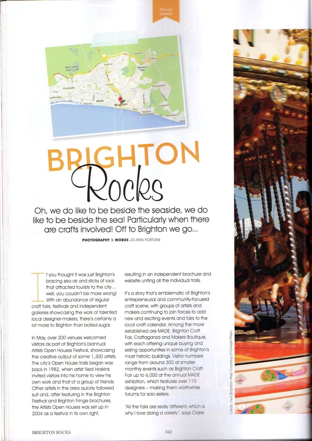 Crafty Mag Page 1