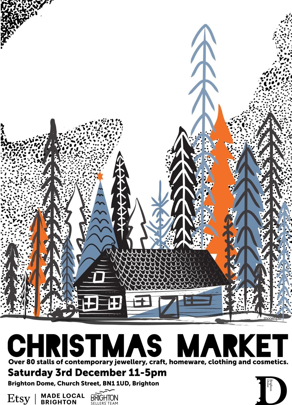 brighton etsy christmas market